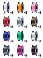 FUNFLAG 3D Printer Filament PLA 1 kg Plastic Spool by TwoPages HomeFashion