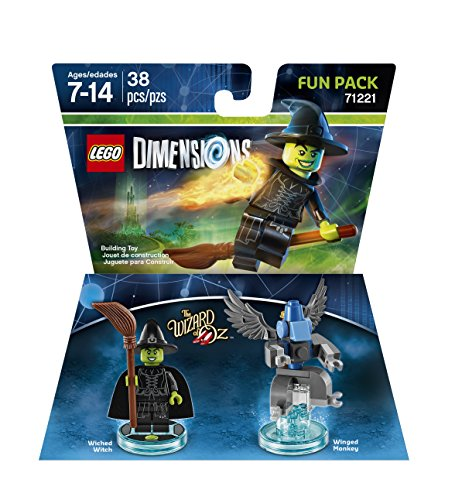 Warner Bros Lego Dimensions Wizard of Oz Witch Fun Pack - Wizard of Oz Wicked Witch Fun Pack Edition