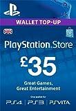 PSN CARD 35 GBP WALLET TOP UP [PS4, PS3, PS Vita PSN Code - UK account]