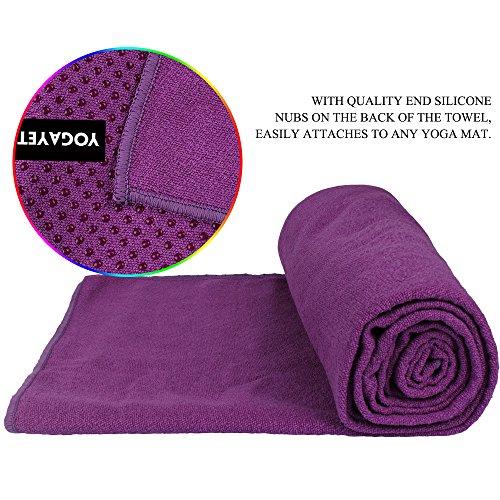 Travel Yoga Mat Or Towel: YOGAYET Yoga Towel, Super Absorbent, Anti-slip, Skidless