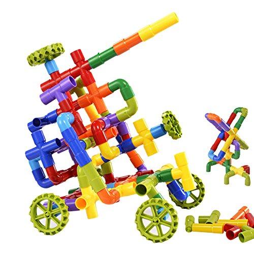 eizur-88-pieces-enfant-tube-jouet-de-construction-multicolore-pipeline-intelligence-jeu-educatif-cre
