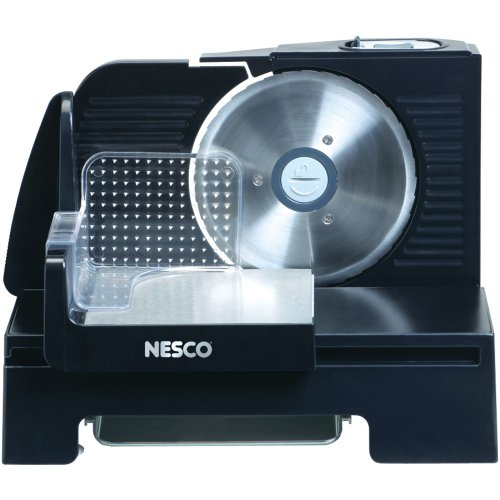 1 - 150-Watt Food Slicer with Removable Motor, 150W removable motor, Thickness adjustment that cuts from deli thin to 1