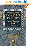 Introduction to German Poetry: A Dual...