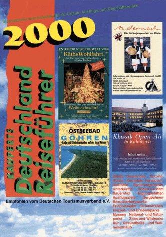 Kauperts Deutschland Reiseführer 2000