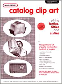 Mail order catalog clip art of the forties fifties and for Free craft catalogs mail