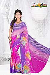 soham enterprise Multicolor Coloured 24 Fabulouse Saree