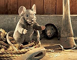 Folkmanis Brown Mouse 8in Hand Puppet from Folkmanis