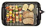 Sanyo HPS-SG3 200-Square-Inch Electric Indoor Barbeque Grill, Black