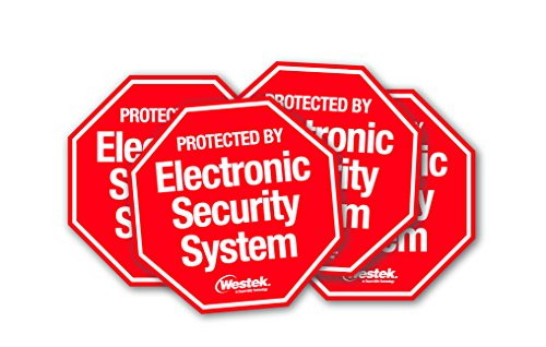 Westek SEC100 Security System Stickers, (Security Stickers For Windows compare prices)