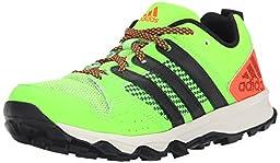 adidas Performance Kanadia 7 TR K Trail Shoe (Little Kid/Big Kid), Black/Black/Red, 13 M US Little Kid