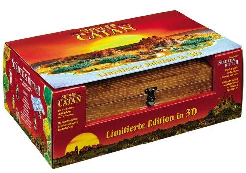 Die Siedler von Catan - Limitierte Edition in 3D