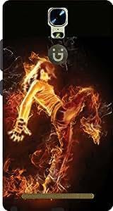 Cliche Printed Back Cover For Gionee Marathon M5 Plus