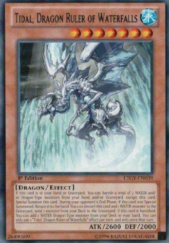 Yu-Gi-Oh! - Tidal, Dragon Ruler of Waterfalls (LTGY-EN039) - Lord of the