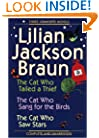 Three Complete Novels OMNI: The Cat Who Tailed Thief The Cat Who Sang for Birds The CatWho Saw Stars