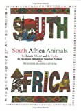 Animals of South Africa Coloring and Workbook