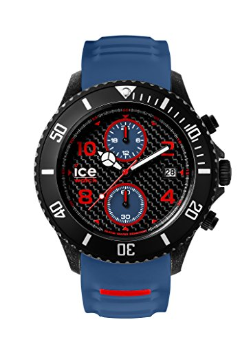 Ice-Watch Herren - Armbanduhr Ice Carbon Analog Quarz Silikon CA.CH.BBE.BB.S.15
