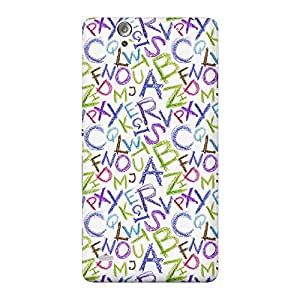 Mobile Back Cover For Sony Xperia C4 (Printed Designer Case)