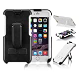 RealST iPhone 6/6s Case, Real Smart Tech, Heavy-Duty, Maximum Protection, Kickstand, Holster Case for iPhone 6/6s, White
