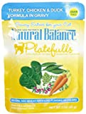Natural Balance Platefulls - Turkey/Chicken/Duck - 24 x 3 oz