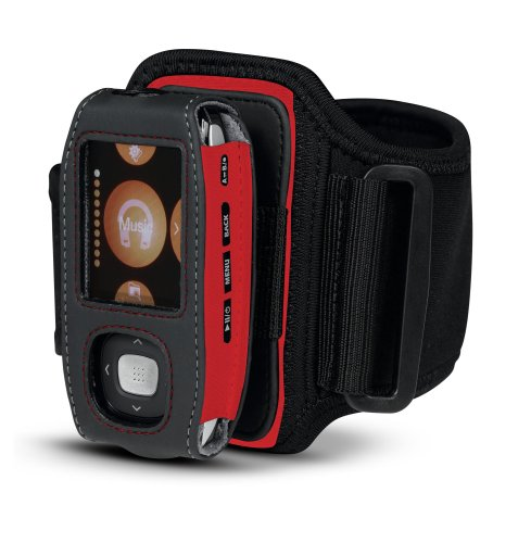 Belkin Sports Armband with Belt Clip for Samsung T9 (F8M016-RED)