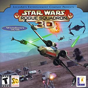 Star Wars: Rogue Squadron 3D (Jewel Case) from LucasArts Entertainment