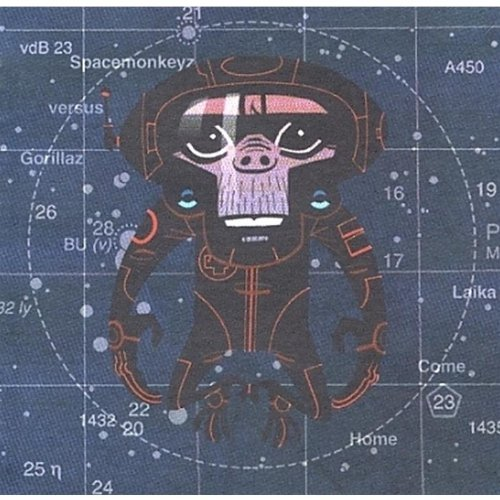 Spacemonkeyz Vs. Gorillaz: Laika Come Home
