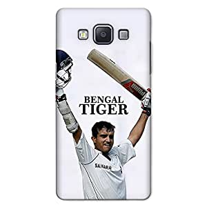 CrazyInk Premium 3D Back Cover for SAMSUNG A5 2015 - Sourav Ganguly Bengal Tiger