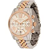 MK5735 Ladies Stainless Steel and Gold Plated Michael Kors Watch