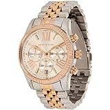 Michael Kors Damen-Armbanduhr Lexington Chronograph Quarz Edelstahl beschichtet MK5735