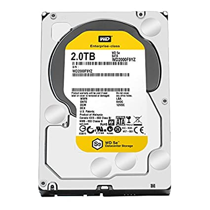WD SE Series (WD2000F9YZ) 2TB Desktop Internal Hard Disk