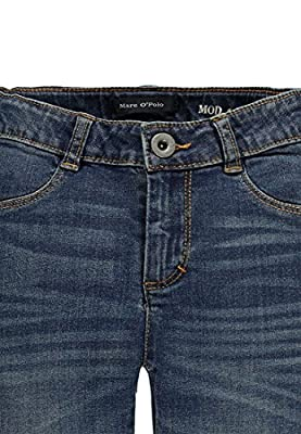 Marc O' Polo Kids Girl's Hose Jeans, Blue Demin, 10 Years