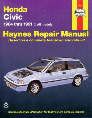 Image for Honda Civic, 1984-1991 (Haynes Manuals)