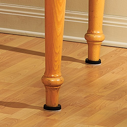 Super Sliders Pack Of 4 2 Inch Self Stick Furniture Movers For Wood Linoleum And Ceramic