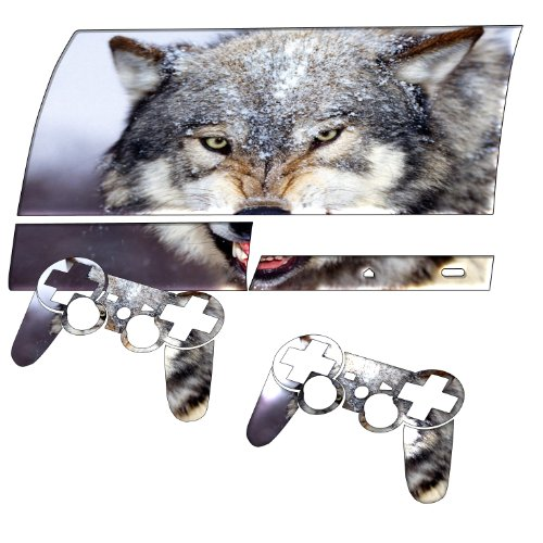 """""""Wild Animals"""" 10009, Sticker For Playstation 3 Fat Game Console."""