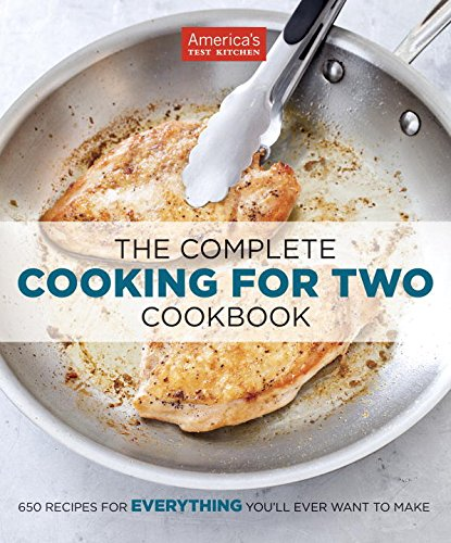 The Complete Cooking for Two cookbook - Valentine's Day Gift Guide for the Cook www.pinchofnutmeg.com