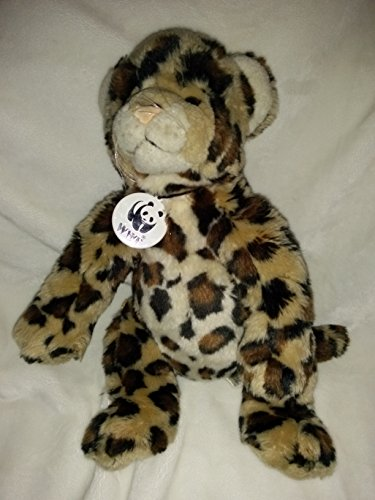 Build a Bear Workshop World Wildlife Fund Series 2012 Plush Stuffed Leopard Cheetah - 1