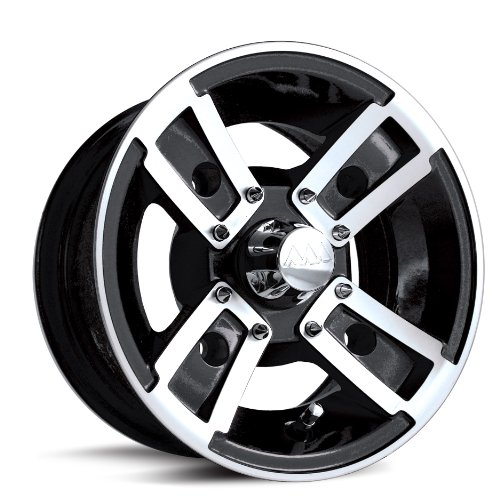 MotoSport Alloys S3 Redline Black Machined 10x5