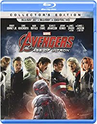 Marvel\'s Avengers: Age of Ultron (Collector\'s Edition) (Blu-ray 3D + Blu-ray + Digital HD)