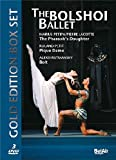 The Bolshoi Ballet - Gold Edition [3 DVDs]