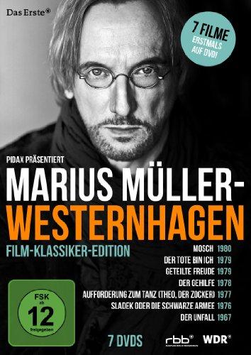 Marius Müller-Westernhagen Film-Klassiker-Edition (Aufforderung zum Tanz / Mosch / Sladek / Der Gehilfe / Geteilte Freude / Der Tote bin ich / Der Unfall) [7 DVDs]