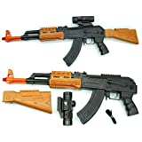 AK RIFLE AK-47 TOY GUN (AK-7744B) BLUE EDTION