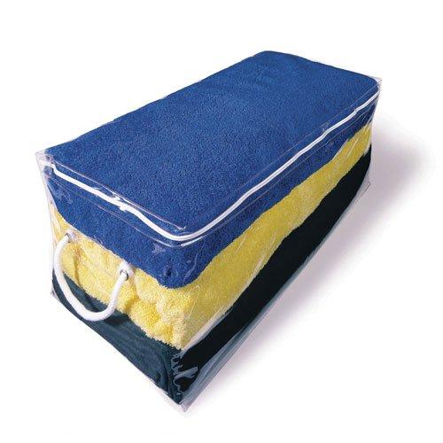 Richards Homewares Clear Vinyl Oblong Storage Bag front-204957