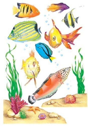 Window Cling Fish 12 X 17 by Eureka School - 1