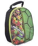TMNT Ninja Turtles Black Round Lunch Box