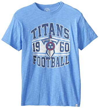 NFL Tennessee Titans Retro Logo Scrum Tee by