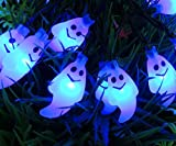4.8m Ghost Solar Lamp LED Solar Lights Outdoor Waterproof For Christmas Garden Decoration LED String Fairy Lights Lampe Solaire