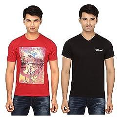 Strak Cotton Men's Casual T-Shirt (STR2041_M)
