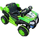 12V/7Amp Kids Ride On Car With Remote And Infrared Gun (GREEN)