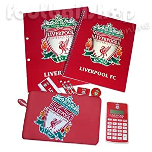 Liverpool FC Student Calculator Pencil Case Stationery Gift Set (RRP £10.99!) from Liverpool