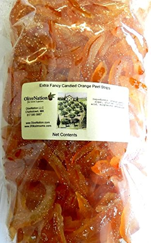 OliveNation Candied Orange Peel Slices 2 lbs (32 oz.) (Lemon Custard Ice Cream compare prices)